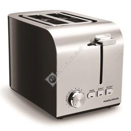Morphy Richards 222054 Equip 2 Slice Toaster - Black - ES1780778