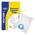 BAG283 High Quality Nilfisk Type G Filter-Flo Synthetic Dust Bags - Pack of 5