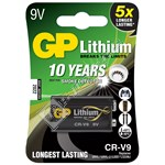 Gp Batteries GP 9V PP3 CR-V9 Lithium Battery