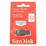 Sandisk 32GB Cruzer Blade USB Flash Drive
