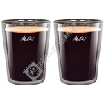 Melitta 200ml Coffee Glasses – Pack of 2