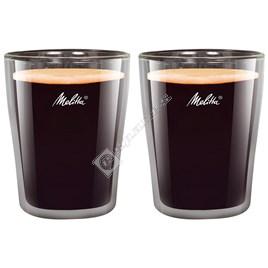 Melitta 200ml Coffee Glasses – Pack of 2 - ES1777403