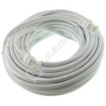 CAT5E Ethernet 15m Cable - White