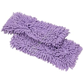 Shark Steam Cleaner Microfibre Coral Pads - Pack of 2 for S3502 - ES1641307