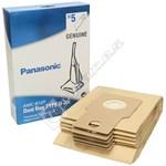 Panasonic U-20E Paper Dust Bag - Pack of 5