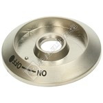 Cooker Control Knob Bezel - Stainless Steel