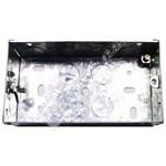 Wellco Silver Metal Box Twin Pattress Box
