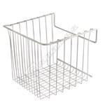 White Wire Middle Freezer Basket