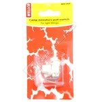 Wellco White Pull Switch - Pack of 10