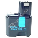 EB1820 18V Clip-on NiCD Power Tool Battery