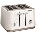 Morphy Richards Aspect 4 Slice Toaster - White