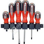 Wellco 6 Piece Heavy Duty Screwdriver Set