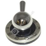 Chrome Main Oven Control Knob