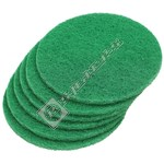 Green Polisher Scouring Disks - Pack of 6 (VD45)