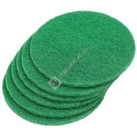 Electrolux Green Polisher Scouring Disks - Pack of 6 (VD45) - ES660915