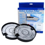 Cooker Hood Carbon Filter - Pack of 2