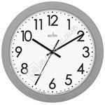 Acctim 21890 Abingdon Wall Clock - Grey
