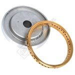 Rapid Burner Body and Brass Ring