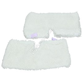 Steam Cleaner All Purpose Microfibre Cloth Pads (Pack of 2) - ES1641310