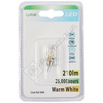 LyvEco 2W G4 Capsule LED Bulb – Warm White