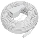 20M Telephone Extension Lead