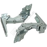Fridge/Freezer Integrated Door Hinges