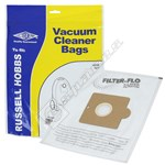 BAG363 High Quality Russell Hobbs 76 Filter-Flo Synthetic Dust Bags - Pack of 5