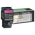 Genuine Magenta Toner Cartridge - C540H1MG