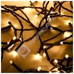 The Christmas Workshop 288 LED Warm White Cluster Chaser Lights