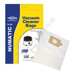 BAG278 High Quality Numatic NVM-1CH Filter-Flo Synthetic Dust Bags - Pack of 10