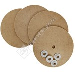 Floor Polisher Buffing Pads & Washers Kit