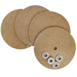 Vax Floor Polisher Buffing Pads & Washers Kit - ES188790