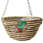 """Kingfisher Rope Hanging Basket - 12"""""""