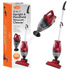Quest 43620 2 In 1 UprightHandheld Vacuum Cleaner | eSpares