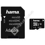 Hama 32GB MicroSDHC Class 10 Memory Card & Adapter