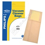 Electruepart BAG38 Philips Paris Vacuum Dust Bags - Pack of 5