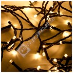 The Christmas Workshop 40 LED Warm White String Lights