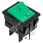 Rocker Switch (Black/Green)