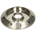 Stainless Steel Control Knob Bezel