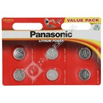 Panasonic CR2025 Coin Batteries