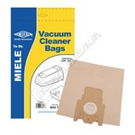 Electruepart BAG77 Miele Vacuum Dust Bags (Type H) - Pack of 5