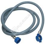 Indesit Dishwasher Blue Cold Water Fill Hose - 2 Metre