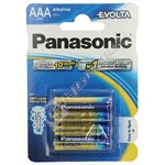Panasonic AAA Evolta Alkaline Batteries