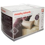 Morphy Richards 620013 King Dual Washable Fleece Heated Mattress Cover