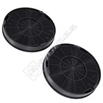 Cooker Hood Charcoal Filters - Pack of 2
