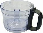 Black Food Processor Bowl