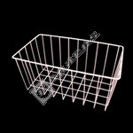 White Wire Freezer Basket