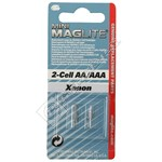 Mag-Lite AA Replacement Bulb - Pack of 2