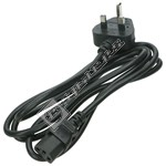 IEC 3 Pin Mains Cable