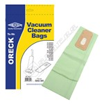 Compatible Oreck Vacuum Dust Bags (CC Type) - Pack of 5